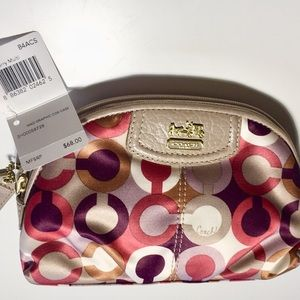 NWT & Authentic Coach Cosmetic Case